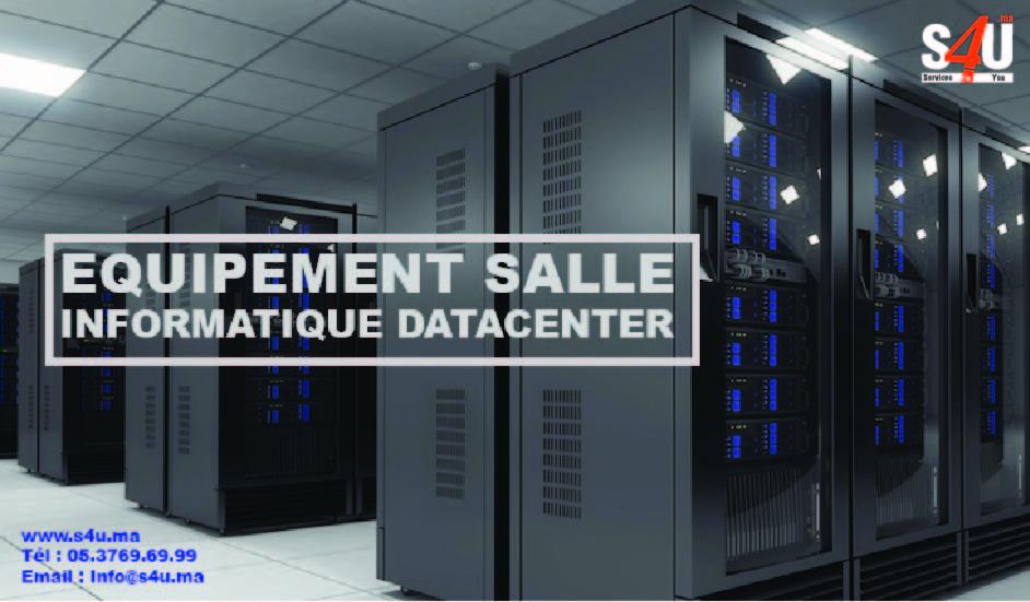 Equipment salle informatique datacenter
