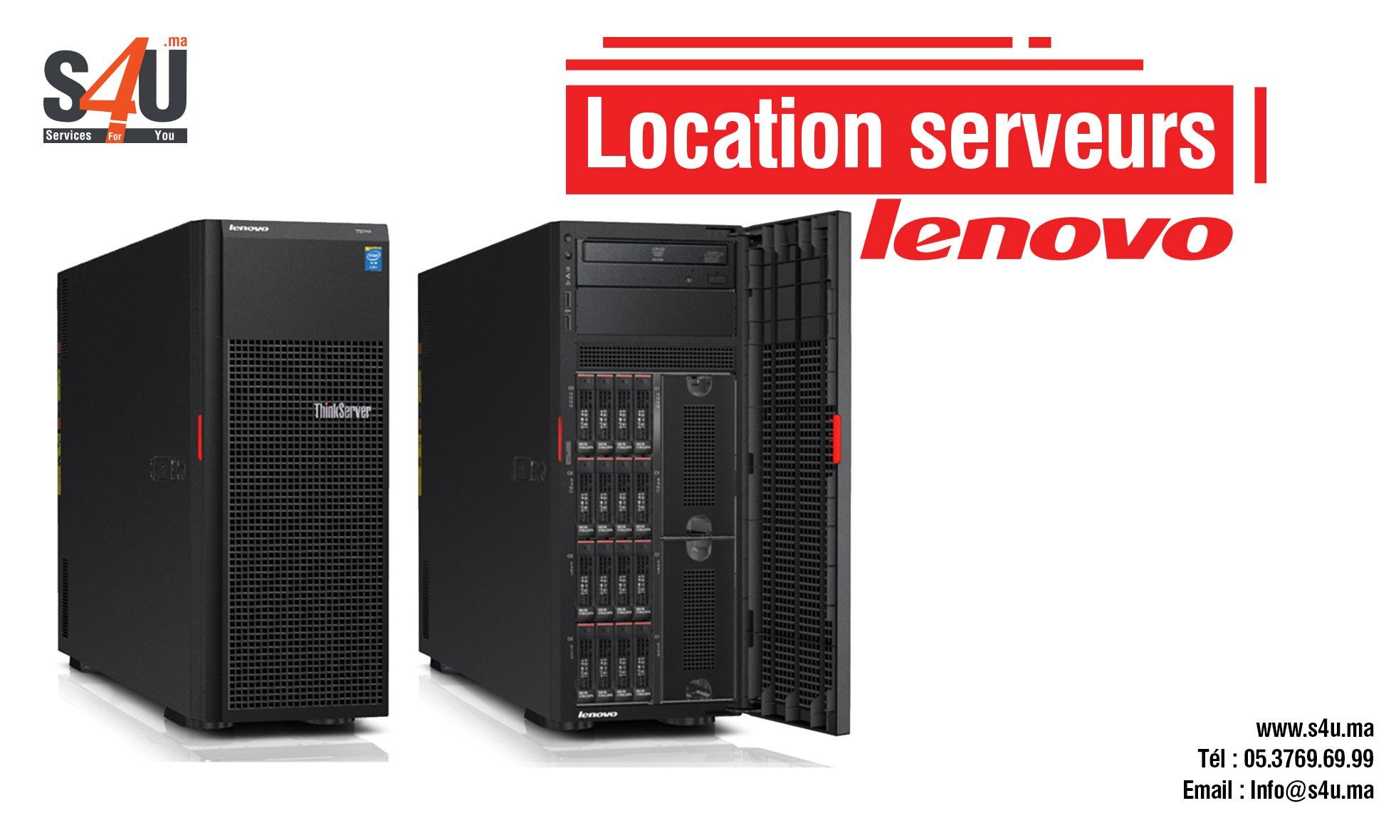 Location des serveurs Lenovo Rabat Casablanca, Maroc