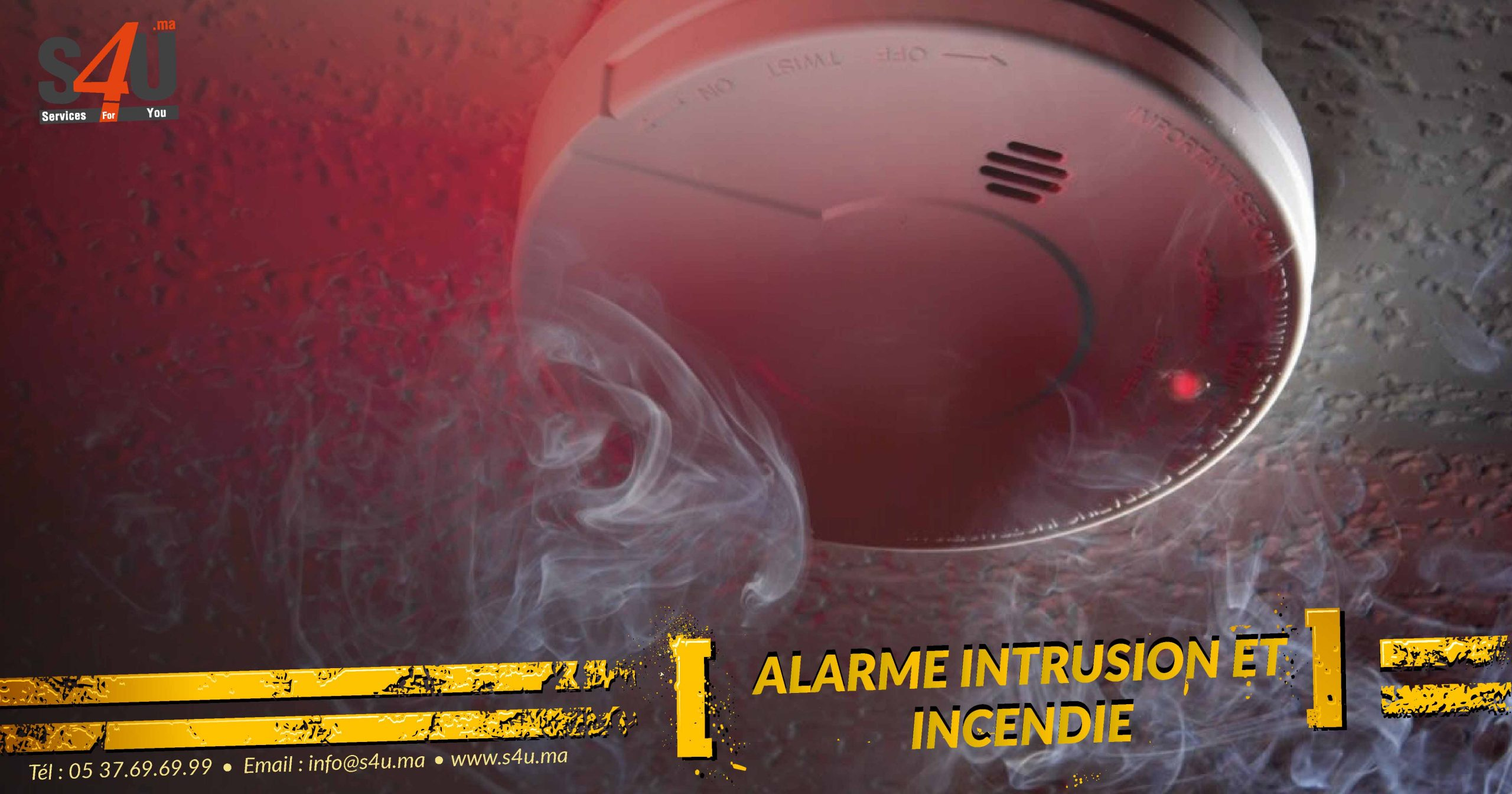 Solution d'alarme intrusion Rabat