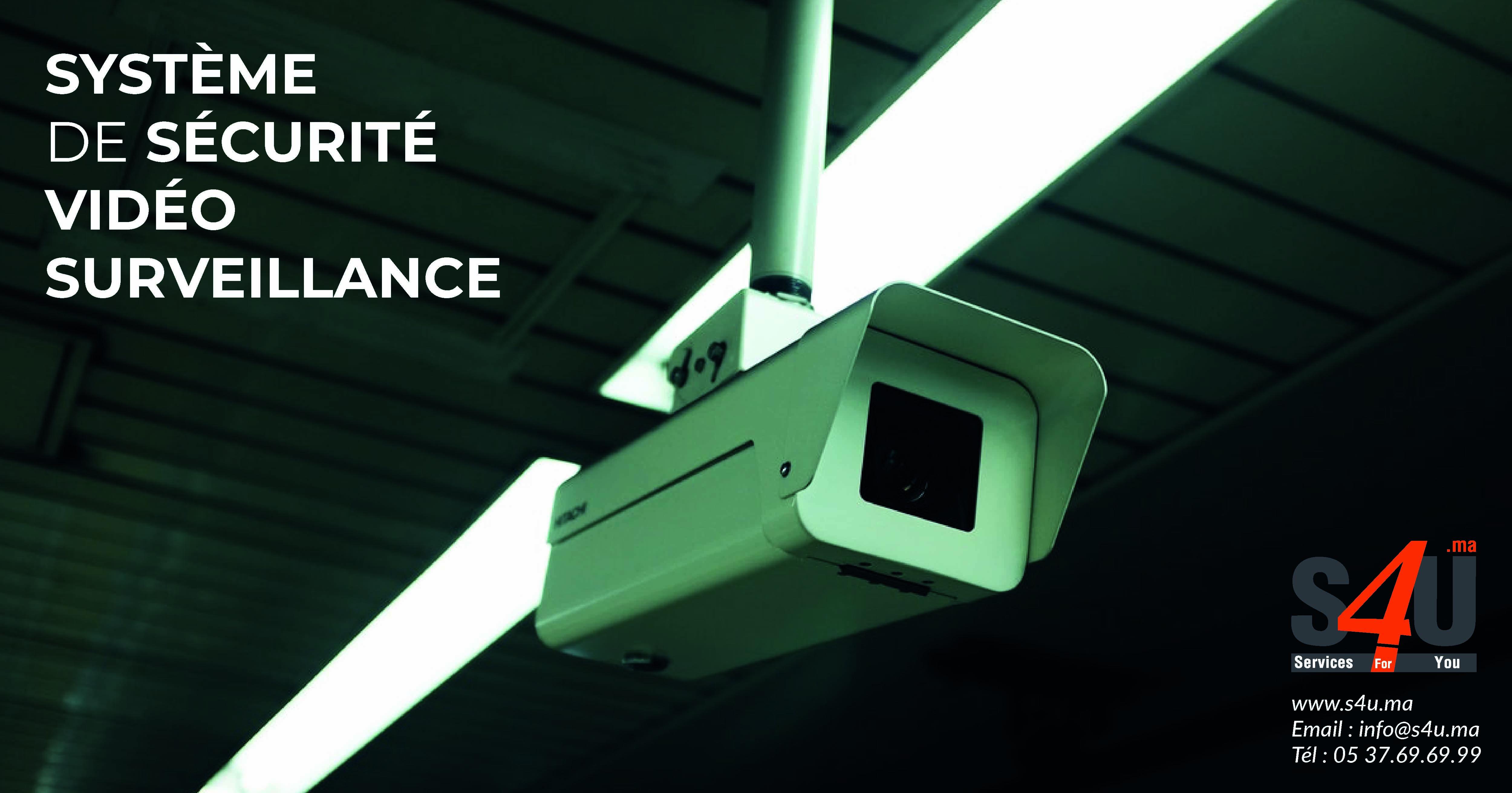système de sécurité vidéo surveillance