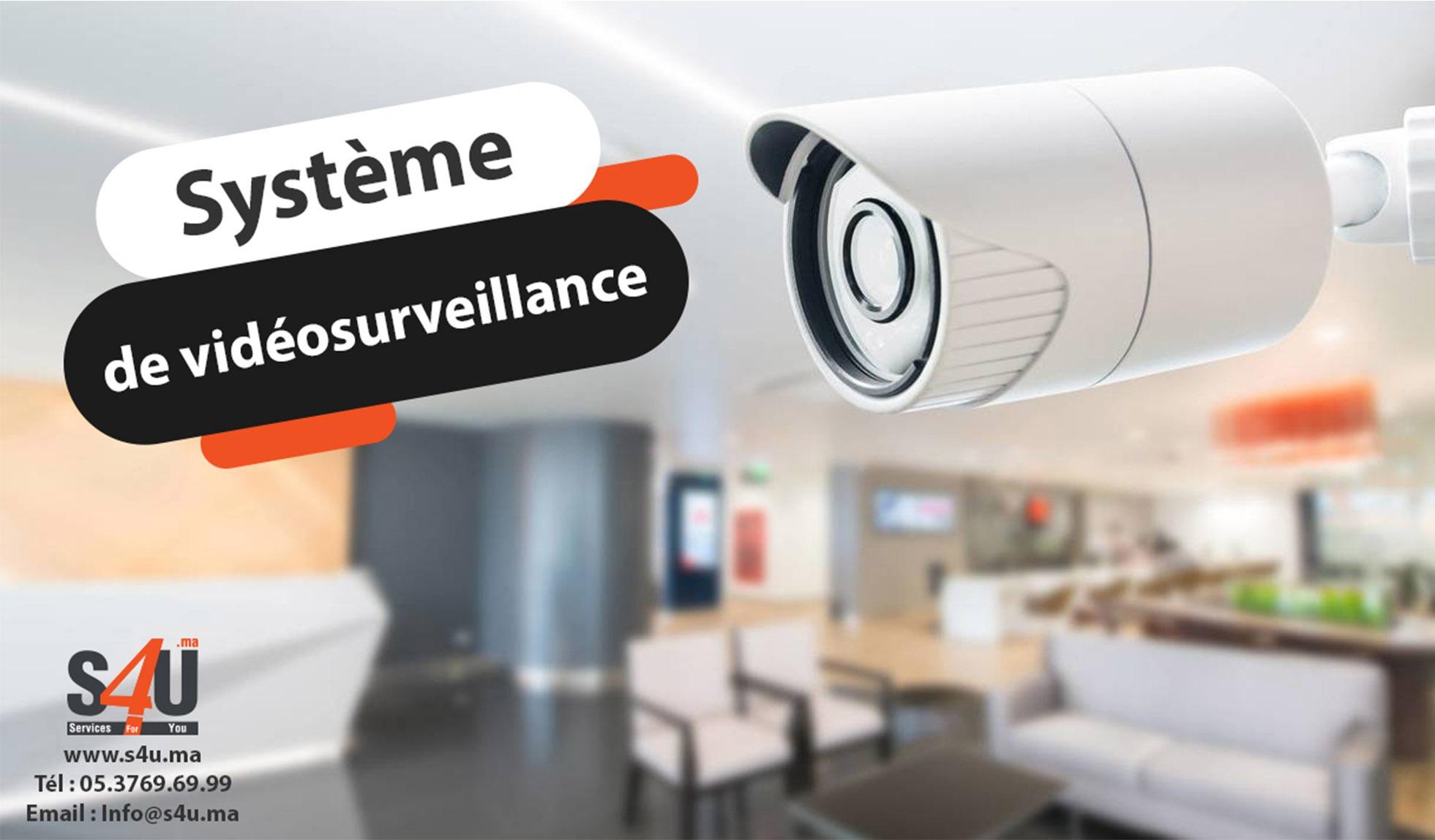 système-de-vidéosurveillance.Rabat